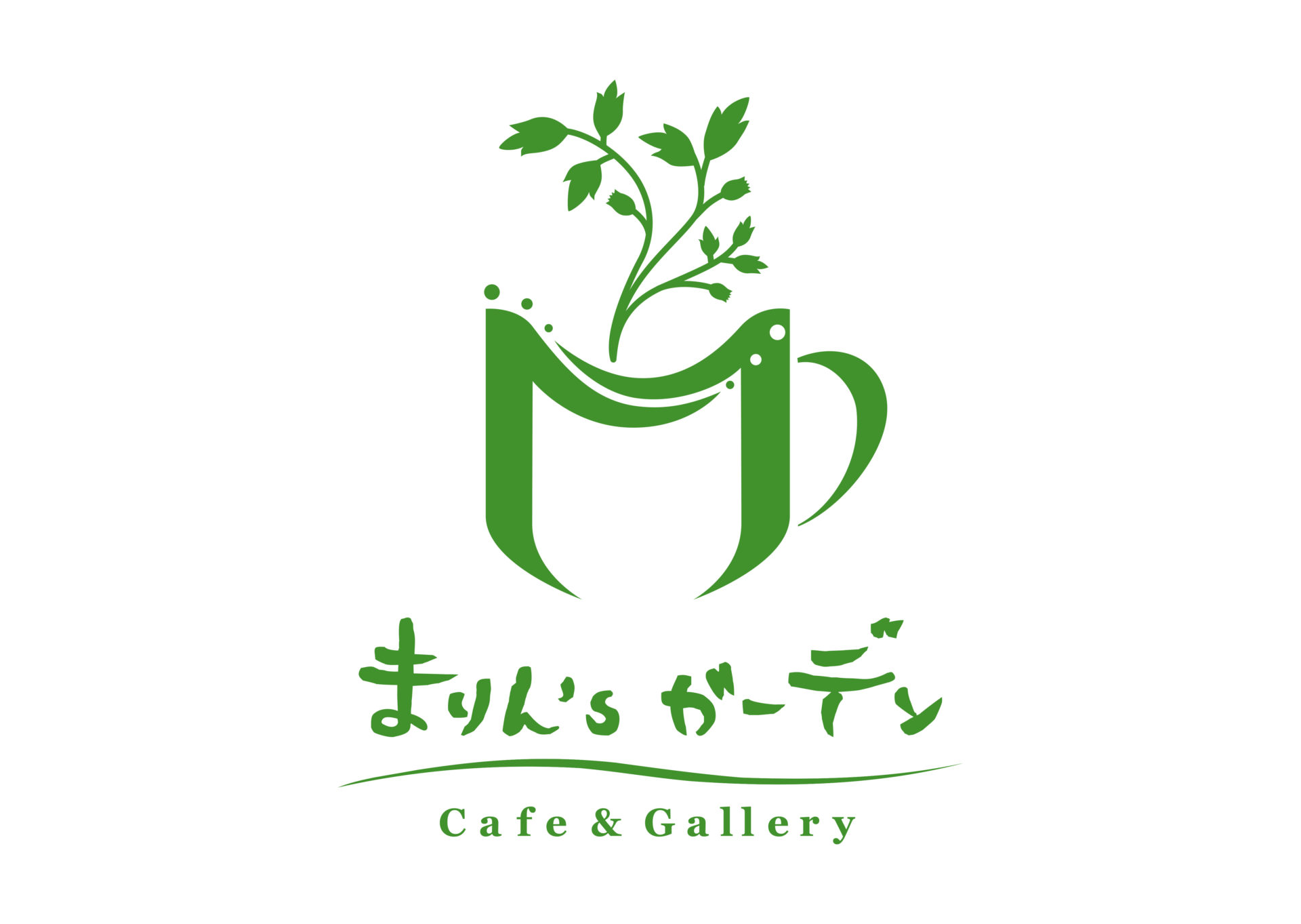 まりん'sガーデン ロゴ